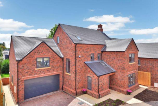 Thumbnail Detached house for sale in Sorchestun Lane, Chellaston, Derby
