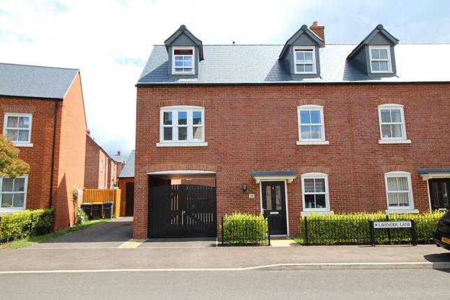 Thumbnail Semi-detached house for sale in Lavender Lane, Great Denham, Bedford, Bedfordshire