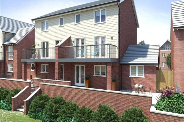 Thumbnail Semi-detached house for sale in Roxby Phase 1, Navigation Point, Cinder Lane, Castleford