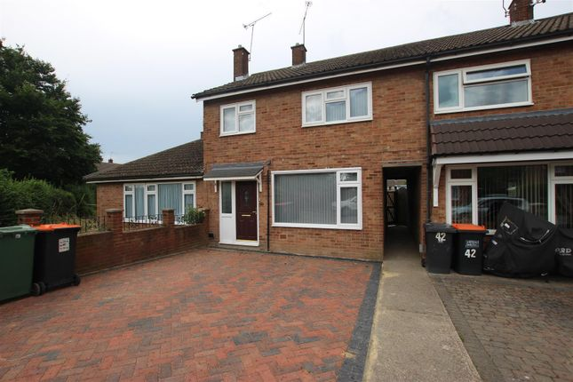 Thumbnail Terraced house for sale in Churchfield Road, Houghton Regis, Dunstable