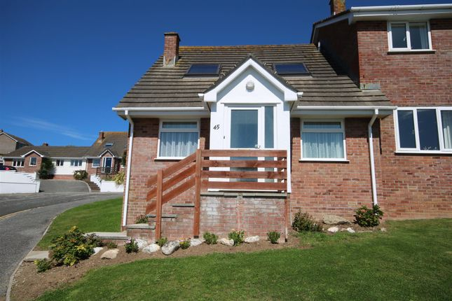 Thumbnail Semi-detached bungalow for sale in Penmere Drive, Newquay