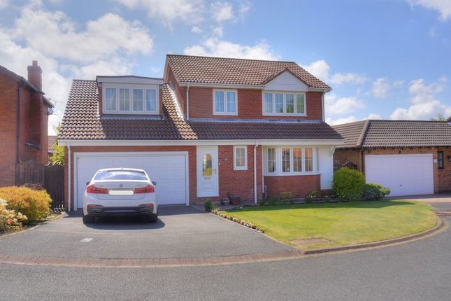 Thumbnail Detached house for sale in Hartford Court, Bedlington