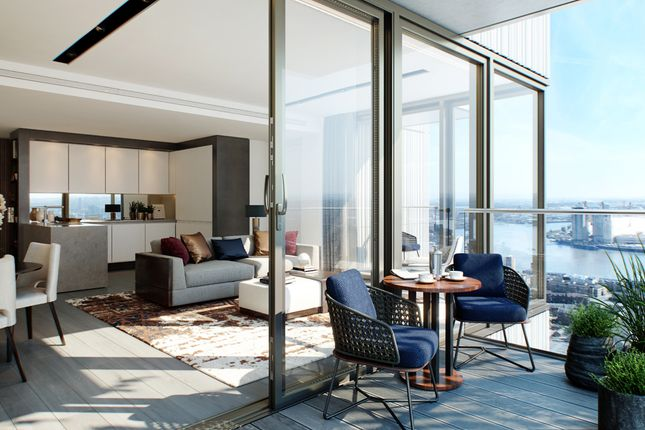 Thumbnail Flat for sale in One Park Drive, Canary Wharf, London