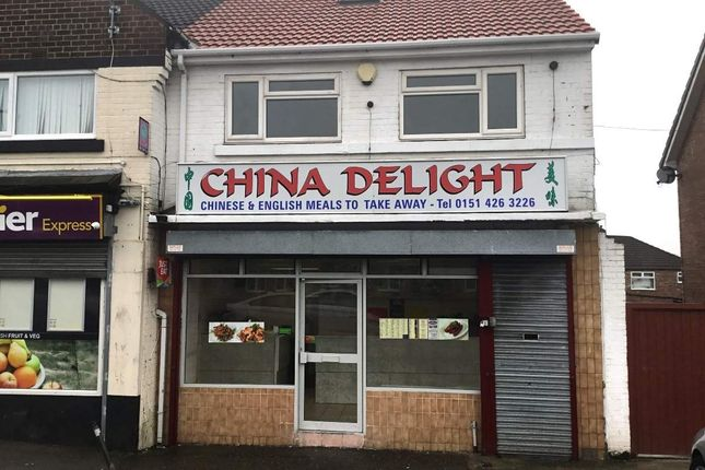 Thumbnail Restaurant/cafe for sale in Shaw Lane, Whiston, Prescot