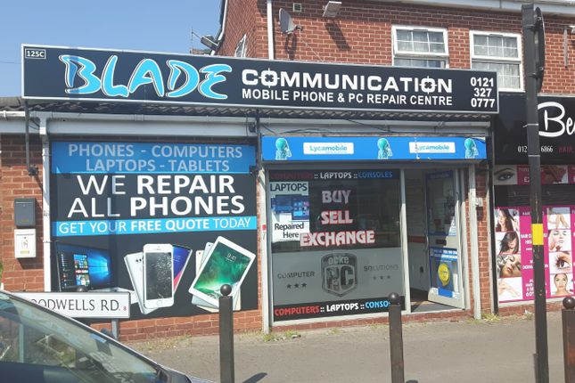 Thumbnail Retail premises for sale in St Agathas Road, Birmingham