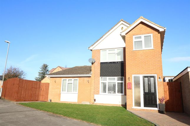 Thumbnail Detached house for sale in Bradshaw Way, Irchester, Wellingborough