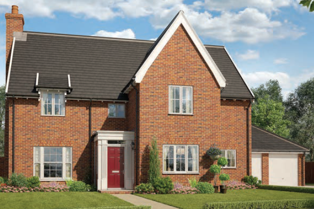 Thumbnail Detached house for sale in The Arminghall, Watermill Gardens, Stoke Holy Cross, Norwich