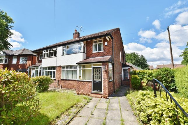 Thumbnail Semi-detached house for sale in St. Georges Crescent, Salford