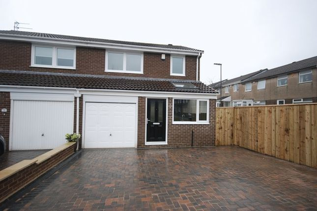 Thumbnail Semi-detached house to rent in Thornbury Close, Newcastle Upon Tyne