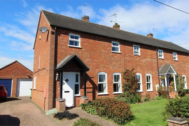 Thumbnail End terrace house for sale in Leire Lane, Ashby Parva, Lutterworth