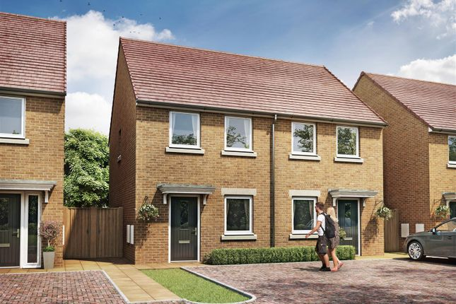 Thumbnail Semi-detached house for sale in Woodpecker Close, West Bridgford, Nottingham