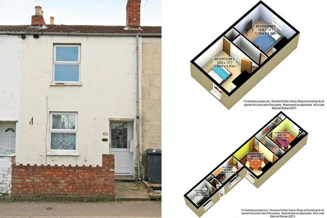 2 bed terraced house to rent in High Street, Tredworth, Gloucester