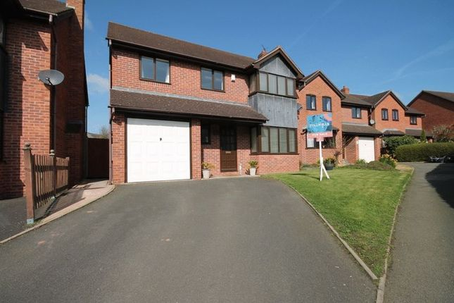 Thumbnail Detached house for sale in Steppes Way, Childs Ercall, Market Drayton