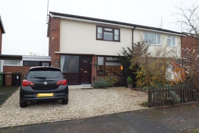 Thumbnail Semi-detached house for sale in Dudley Road, Honeybourne, Evesham