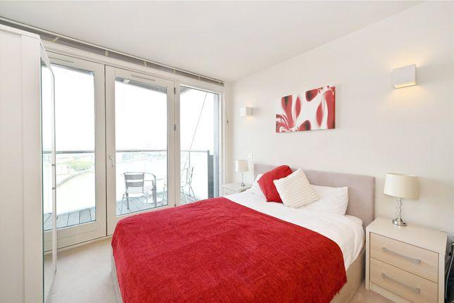 Bedroom of New Providence Wharf, 1 Fairmont Avenue, London E14