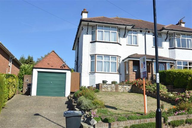 Thumbnail Semi-detached house to rent in Bradmore Way, Coulsdon, Surrey