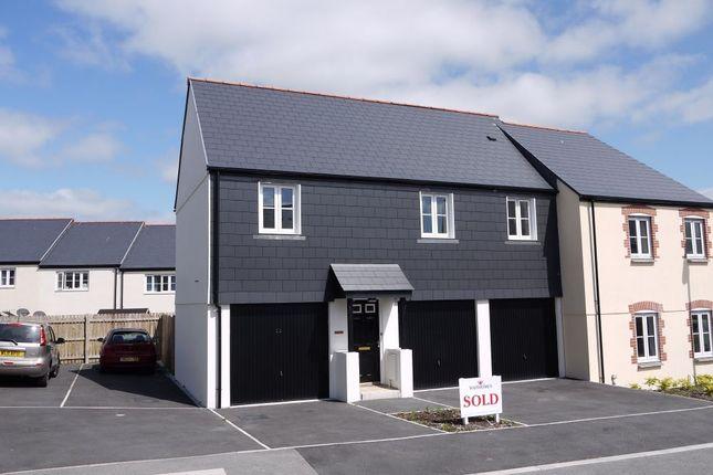 Thumbnail Flat to rent in Goonbarrow Meadow, Bugle, St Austell, Cornwall