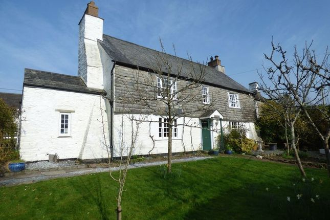 Thumbnail Country house for sale in Mary Tavy, Tavistock