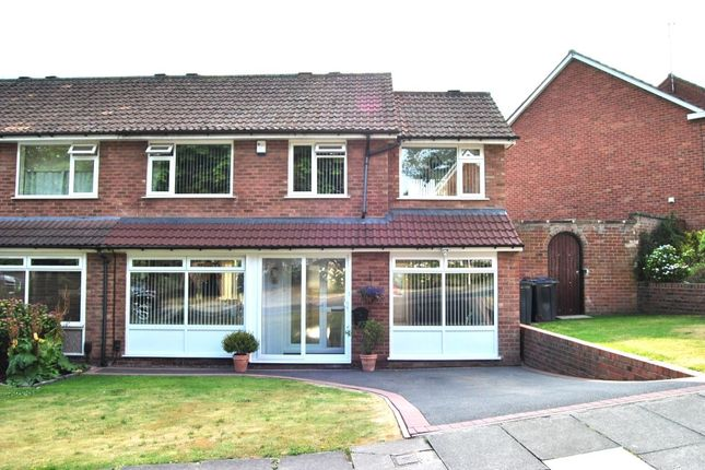 Thumbnail Semi-detached house for sale in St. Denis Road, Birmingham