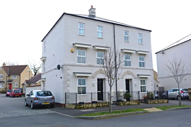 Thumbnail Semi-detached house for sale in Tiger Moth Close, Gloucester