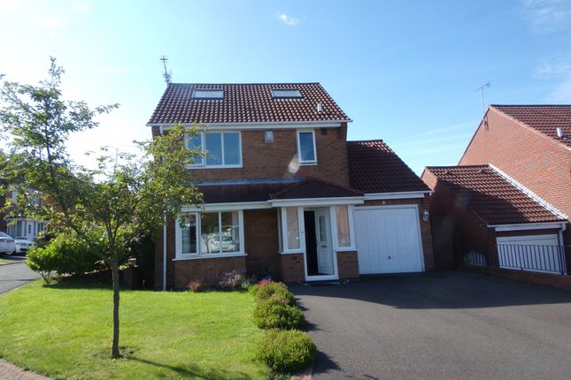 Thumbnail Detached house for sale in Carisbrooke, Bedlington