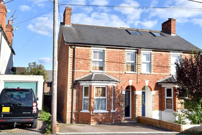 Thumbnail Semi-detached house for sale in Branksome Hill Road, College Town, Sandhurst, Berkshire