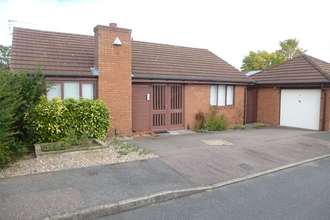 Thumbnail Detached bungalow for sale in Peregrine Rise, Anstey Heights, Leicester