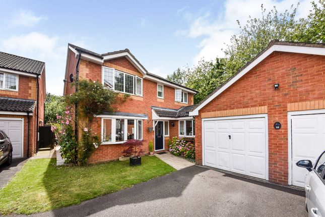 Thumbnail Detached house for sale in Georgia Close, Andover