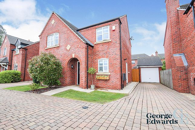 Thumbnail Detached house for sale in Towers Drive, Hinckley