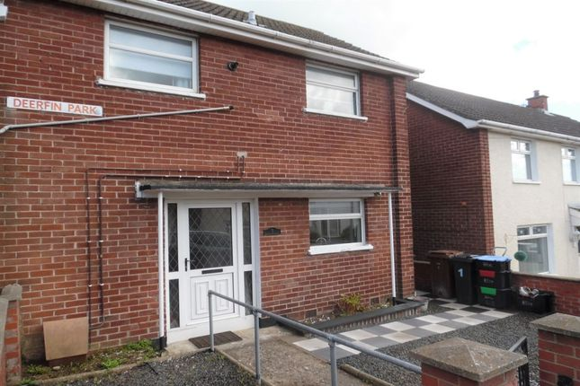 Thumbnail Terraced house to rent in Deerfin Park, Newtownabbey