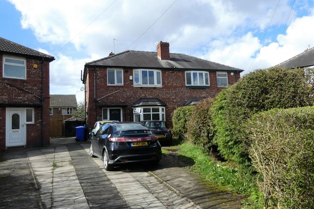 Thumbnail Semi-detached house for sale in Whitethorn Avenue, Burnage, Manchester