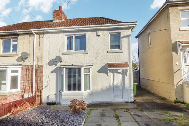 2 bed semi-detached house to rent in Dene Road, Guidepost, Choppington NE62