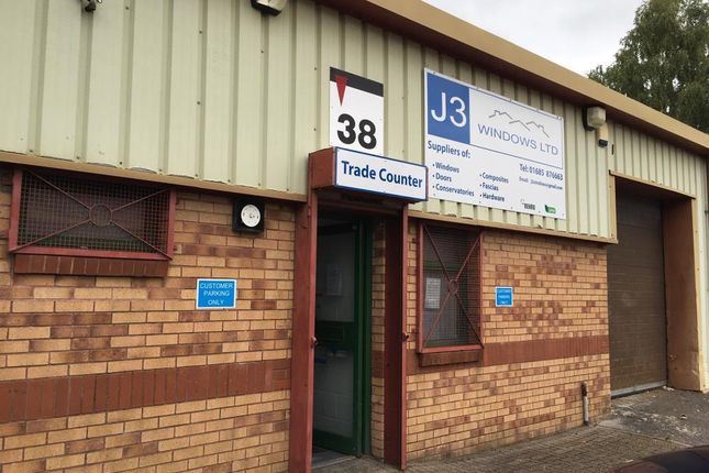 Thumbnail Industrial to let in Aberaman Park Industrial Estate, Aberdare