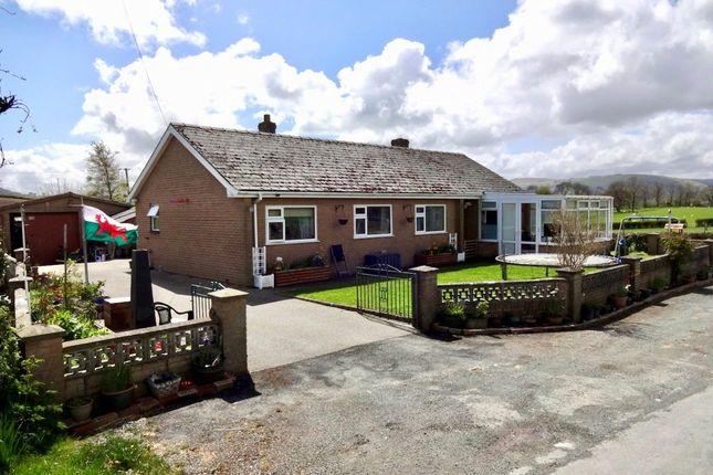 Thumbnail Bungalow for sale in Argoed Lane, Trefeglwys, Caersws, Powys