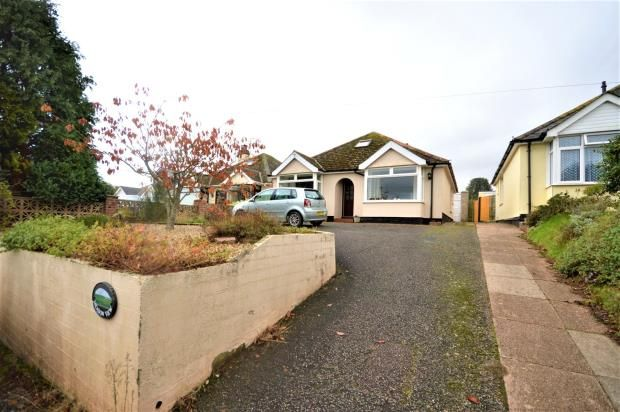 Thumbnail Detached bungalow for sale in Blackhorse Lane, Clyst Honiton, Exeter, Devon