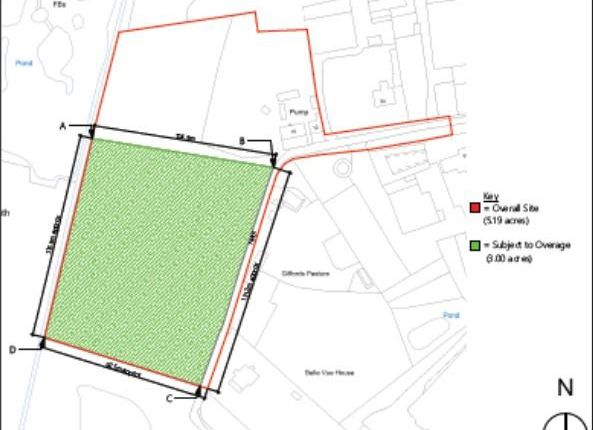 Thumbnail Commercial property for sale in Building Plot At, 16 Little Heath, Gamlingay, Sandy, Cambridgeshire