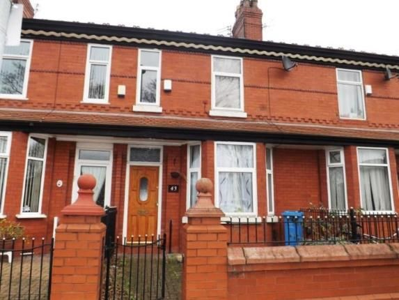 Thumbnail Terraced house for sale in Parkside Road, Manchester, Greater Manchester