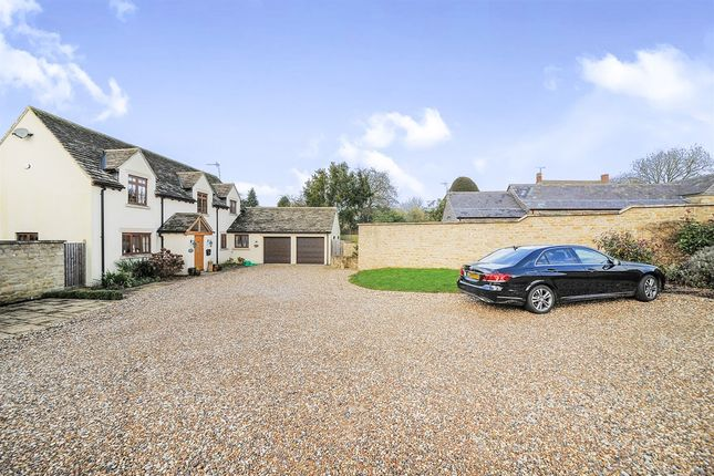 Thumbnail Detached house for sale in High Street, Watchfield, Swindon