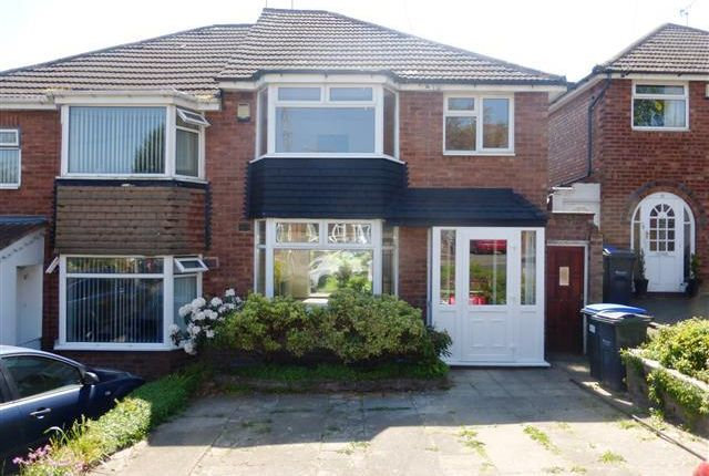 Thumbnail Semi-detached house to rent in Langford Avenue, Great Barr, Birmingham
