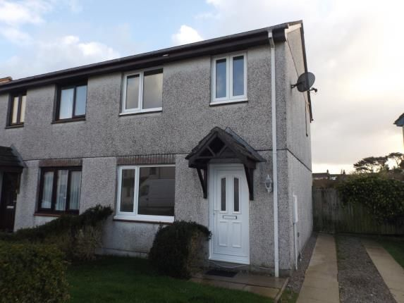Thumbnail Semi-detached house for sale in Mount Hawke, Truro, Cornwall