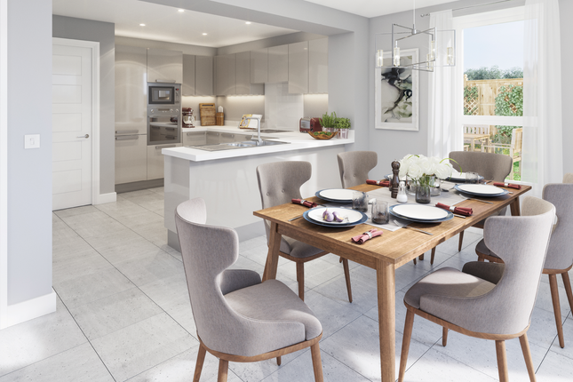 Thumbnail End terrace house for sale in Conningbrook Lakes, Ashford, Kent