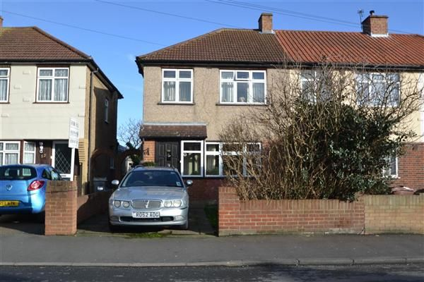 End terrace house for sale in New Road, Bedfont, Feltham