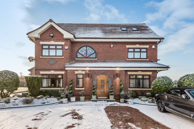 Thumbnail Detached house for sale in Bradley Hall Manor, Rhodes Green, Manchester