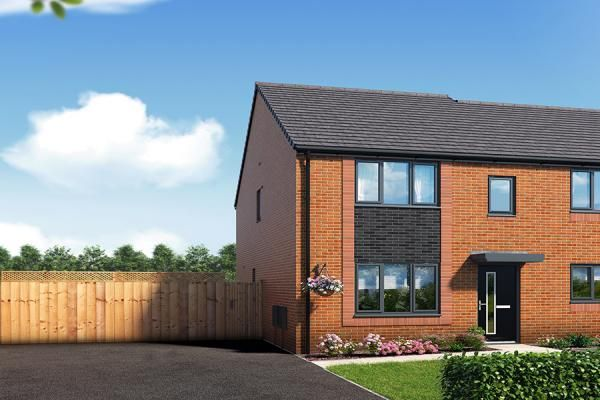 "Thumbnail Property for sale in ""The Leathley At Riverbank View"" at Concord Place, Salford"