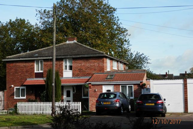 Thumbnail Semi-detached house to rent in Springbrook, Eynesbury, St. Neots