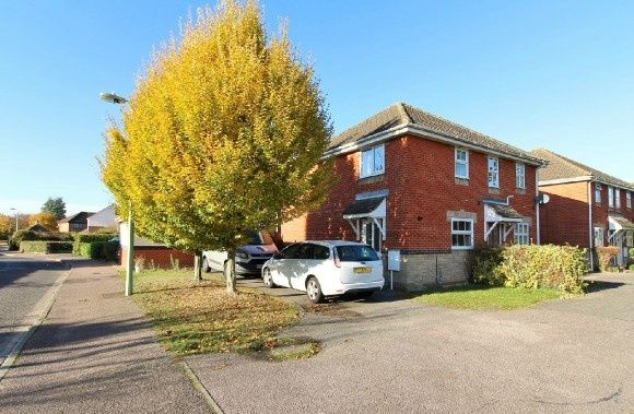 Thumbnail Semi-detached house to rent in Largent Grove, Kesgrave, Ipswich