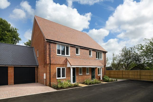 Thumbnail Semi-detached house for sale in Four Seasons, Horam, Heathfield