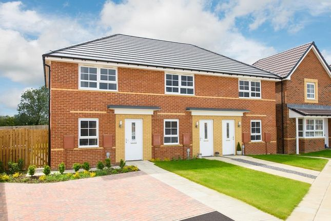 """2 bed terraced house for sale in """"Kenley"""" at Hebron Avenue, Pegswood, Morpeth NE61"""