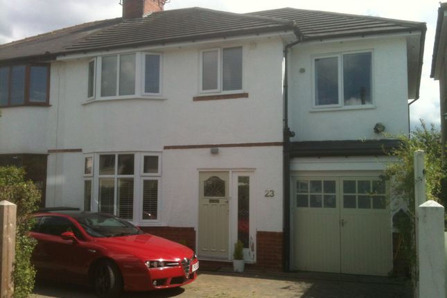 Thumbnail Semi-detached house to rent in Heath Grove, Harrogate