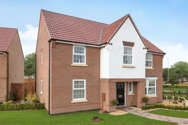 Thumbnail Detached house for sale in Claudius Road, North Hykeham, Lincoln